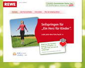 Rewe Seilspringen Aktion